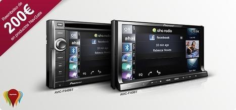 Reembolso de 200€ con los sistema de navegación AVIC-F940BT o AVIC-F40BT | Tuning, motor, car audio | Scoop.it