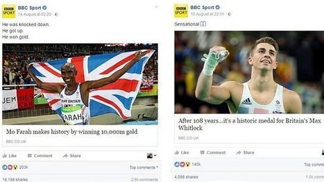 BBC Sport from Rio on social media: World-beating tweets, shareable video | SportonRadio | Scoop.it
