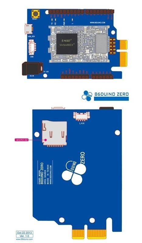 86Duino ZERO x86 Arduino Development Board Available For $40 - Geeky gadgets | Raspberry Pi | Scoop.it