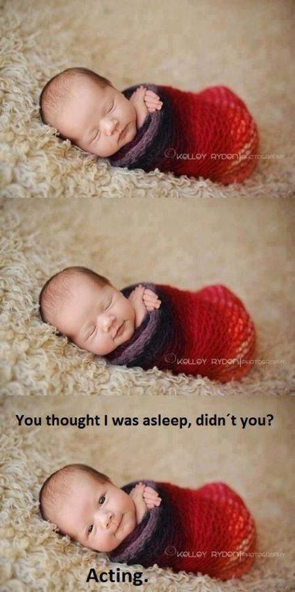 I am just acting sleep:) | Inspirations | Scoop.it