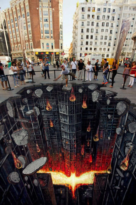 28 Illusory Graffiti Displays | Life, The Universe & Everything.... | Scoop.it