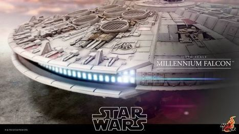 The Massive, 1/6th-Scale Millennium Falcon Is the Prettiest Hunk of Junk | Heron | Scoop.it