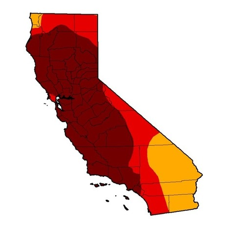 Exceptional Drought Blankets 58 Percent of California; Reservoirs Missing One Year's Worth of Water | GarryRogers NatCon News | Scoop.it