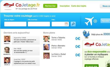 Cojetage avec cojetage.fr : le numéro 1 du partage de Jet Privé | Mais n'importe quoi ! | Scoop.it
