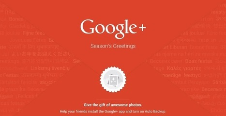 "Google+ auto-backup users will get a personalized ""Year in Review"" video 