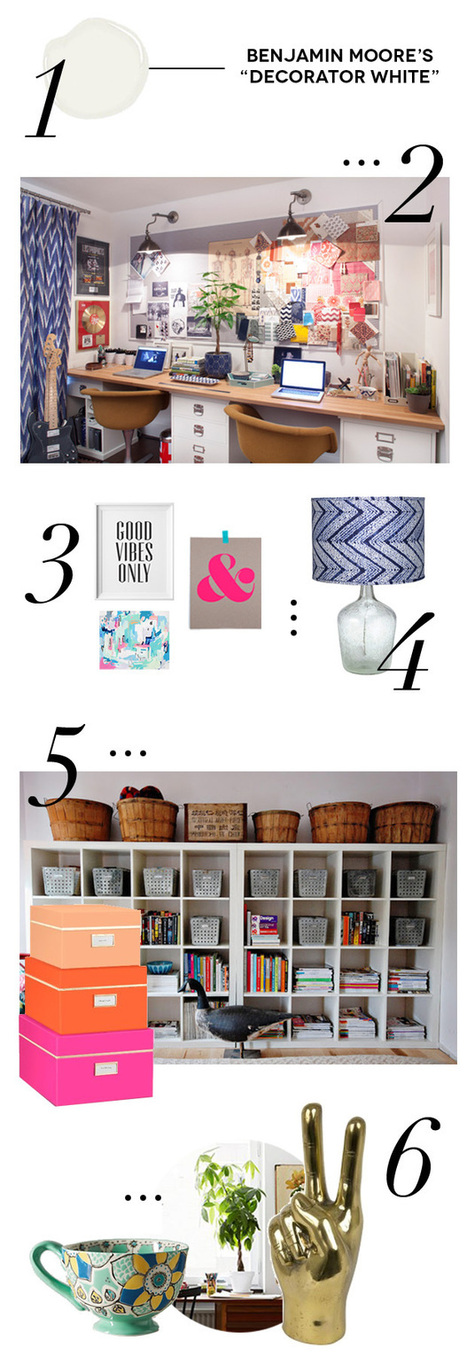 6 Tips for Decorating a Creative Workspace | eHow | Tips | Scoop.it