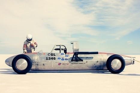 Top 12 des voitures rétro sur le lac salé de Bonneville, de belles photos de Christopher Wilson | Instantanés | Scoop.it