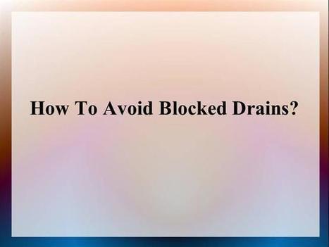 Effective Drainage System Methods | Block drain blocked drains in Glasgow | Scoop.it