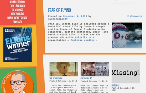 Film English - Short Films & Lesson Plans for ELT | Time2Wonder | Scoop.it