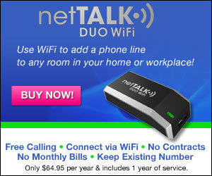 Nettalk Duo Voip Device Use Wifi to Add Phone Line | smartphonez | Scoop.it