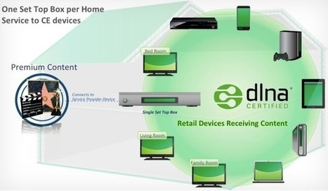 DLNA Premium Video sends protected TV shows and film to any DLNA device | Video Breakthroughs | Scoop.it
