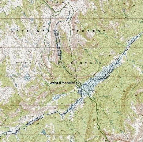 La rivière qui coule dans deux océans   La minute culturelle de Plumblossom   Scoop.it
