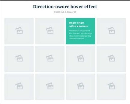 40 Free jQuery CSS3 Image Hover Effects | Go-LiveLabs | Front End Development | Scoop.it