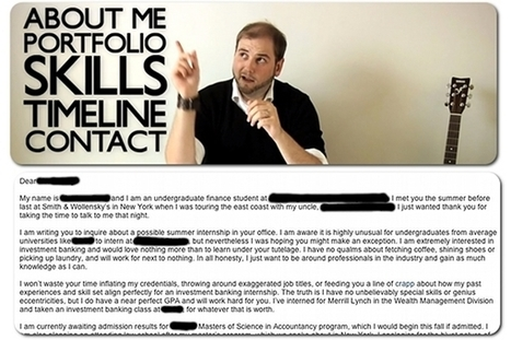 5 memorable cover letters that went viral   Articles   Home   Public Relations Studies   Scoop.it