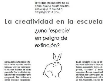 AYUDA PARA MAESTROS: LA CREATIVIDAD EN LA ESCUELA | Educacion, ecologia y TIC | Scoop.it