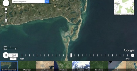 Timelapse – Google Earth Engine | Classroom geography | Scoop.it
