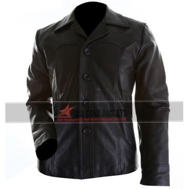 Killing Them Softly Brad Pitt Black Jacket For Men | Film Star Jackets | Scoop.it