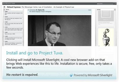 Project Tuva: Enhanced Video Player Home - Microsoft Research | History of Physics | Scoop.it