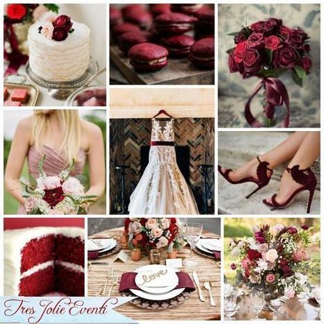 Un matrimonio color Marsala | Tres Jolie Eventi | Scoop.it