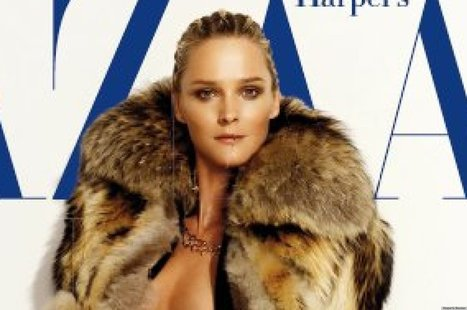PHOTO: Harper's Bazaar Espana's Latest Cover Is All Sorts Of Naked | Xposed | Scoop.it