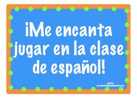 Fun for Spanish Teachers: 17 Fun Games to Play in Spanish Class! | 21st Century World Language Teaching | Scoop.it