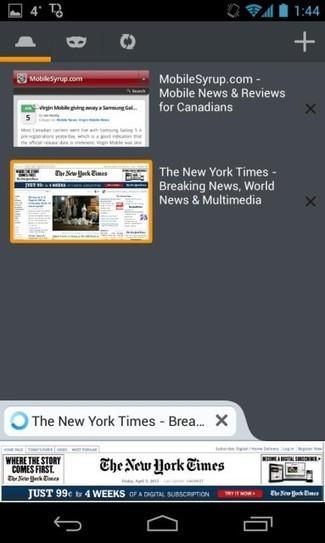 Firefox Beta 21 pour Android offre une meilleur compatibilité HTML5   Android's World   Scoop.it