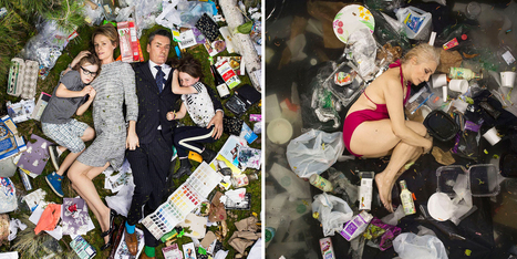 Shocking Photographs Of People Lying In 7 Days Worth of Their Trash | Archivance - Miscellanées | Scoop.it