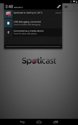 Spoticast : Spotify sur Chromecast c'est possible avec Android ! | Google - le monde de Google | Scoop.it