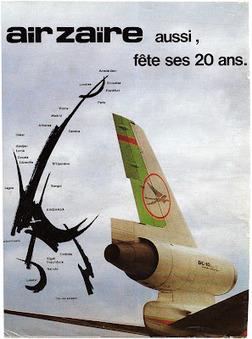 The Timetablist: Air Zaïre Network, 1981 | Allplane: Airlines Strategy & Marketing | Scoop.it