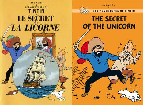 Tintin change de couvertures | BiblioLivre | Scoop.it
