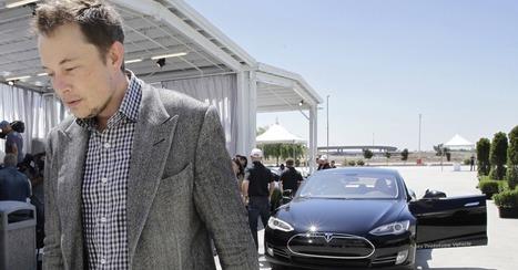 Tesla CEO Elon Musk Reportedly Met With Apple's Top Deals Exec   Networking 4 Business   Scoop.it