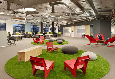 8 exemples de bureaux insolites et originaux - Mode(s) d'emploi, toute l'actualité du recrutement | e-RH | Scoop.it