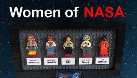 """Proposal for LEGO set featuring """"ladies who rock outer space"""" causes stir 