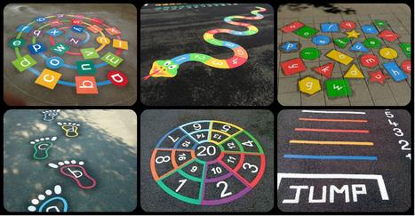 40 Nuevos y divertidos Juegos tradicionales para el patio del cole. Pinta tu patio para jugar - Imagenes Educativas | Recull diari | Scoop.it