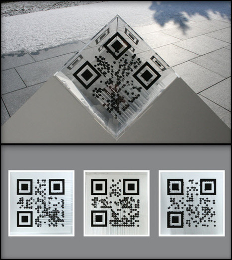 Frank Haase Trinity – 3in1 QR Code « QR Code ® Artist | QR Code Art | Scoop.it