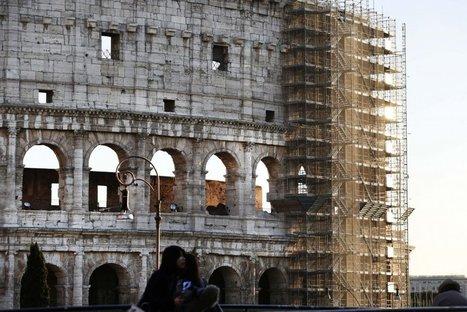Roma: Termina la restauración. El Coliseo, libre de andamios tres años después | Mundo Clásico | Scoop.it