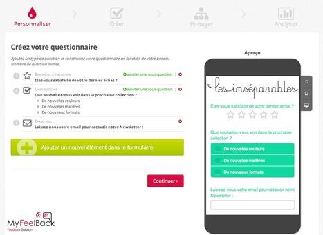 MyFeelBack lance le premier générateur gratuit de questionnaire multicanal. | Le blog de la connaissance client | Scoop.it