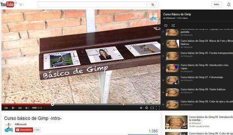 Vídeo curso básico de GIMP en español | Recull diari | Scoop.it