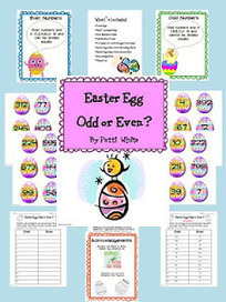 Easter Egg Odd or Even | Seasonal Freebies for Teachers | Scoop.it