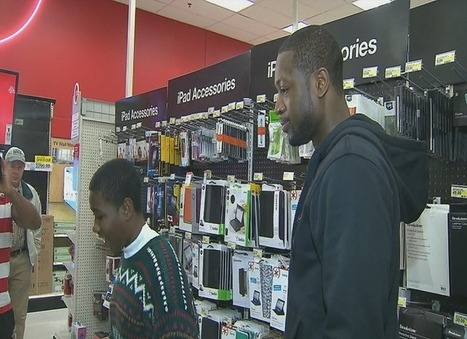 Miami Heat's D-Wade takes South Florida families on Target shopping spree (VIDEO) | The Billy Pulpit | Scoop.it