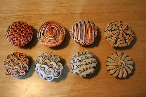 Colorful swirled cupcakes | Recetas de Comida | Scoop.it