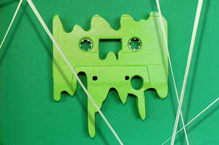 Brilliant Pop Art Made From Retro Cassette Tapes   Pop Art - Movimento Artístico   Scoop.it