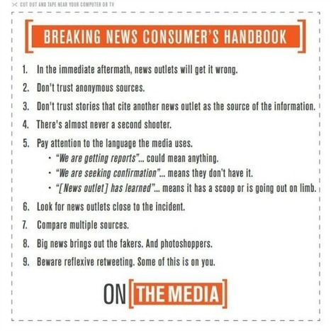 The Breaking News Consumer's Handbook | New Journalism | Scoop.it