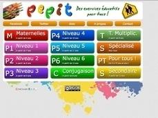 Pepit : des exercices éducatifs pour tous les âges | TICE, Web 2.0, logiciels libres | Scoop.it