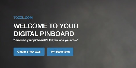 tozzl - a digital online pinboard | Curation and Libraries and Learning | Scoop.it