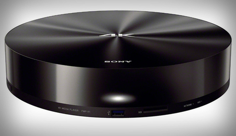 Sony Announces World's First 4K Media Player | TechWatch | Scoop.it