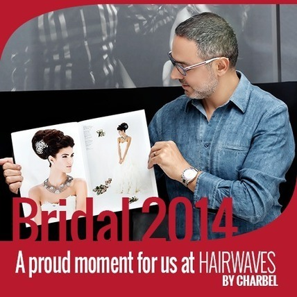 Bridal 2014 -A pride for us at hairwaves by charbel | Fashion in UAE | Scoop.it