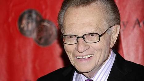 Culture Pop: Larry King wants to be frozen - 7Live | Morning Radio Show Prep | Scoop.it