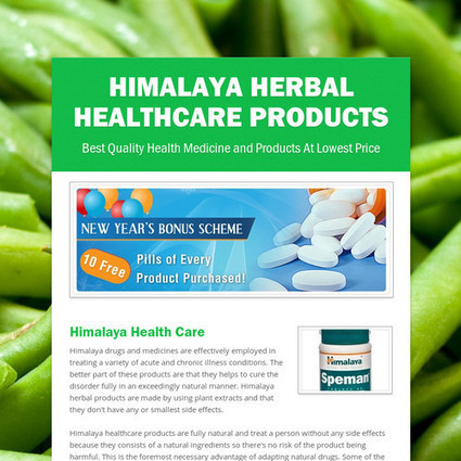 Himalaya Herbal HealthCare Products - Meds4world.net | Meds4World | Scoop.it