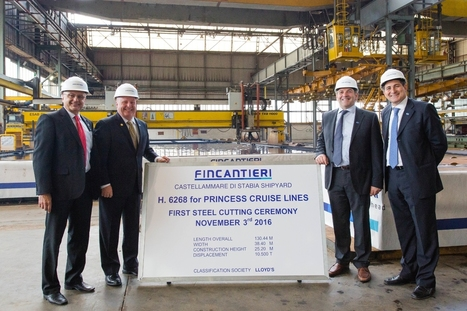 Work Begins on Fourth Royal Class Ship for Princess Cruises | TLC TravelS' Tours & Cruises! | Scoop.it